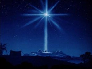 The star of Bethlehem.