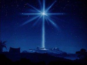The star of Bethlehem.