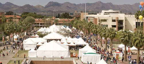 Tucson Festival of Books on the University of Arizona campus