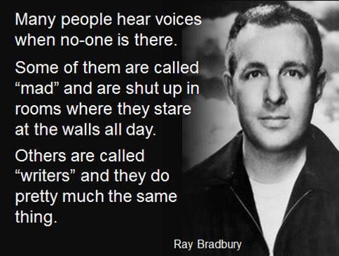 Bradbury on writers