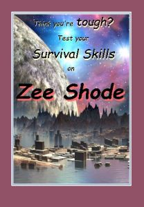 The Trilogy of Tompa Lee is set on Zee Shode. It's inhabitants have a long history, but never achieved space flight Tompa Lee's final showdown occurs in the flooded city of Rapree, pictured here